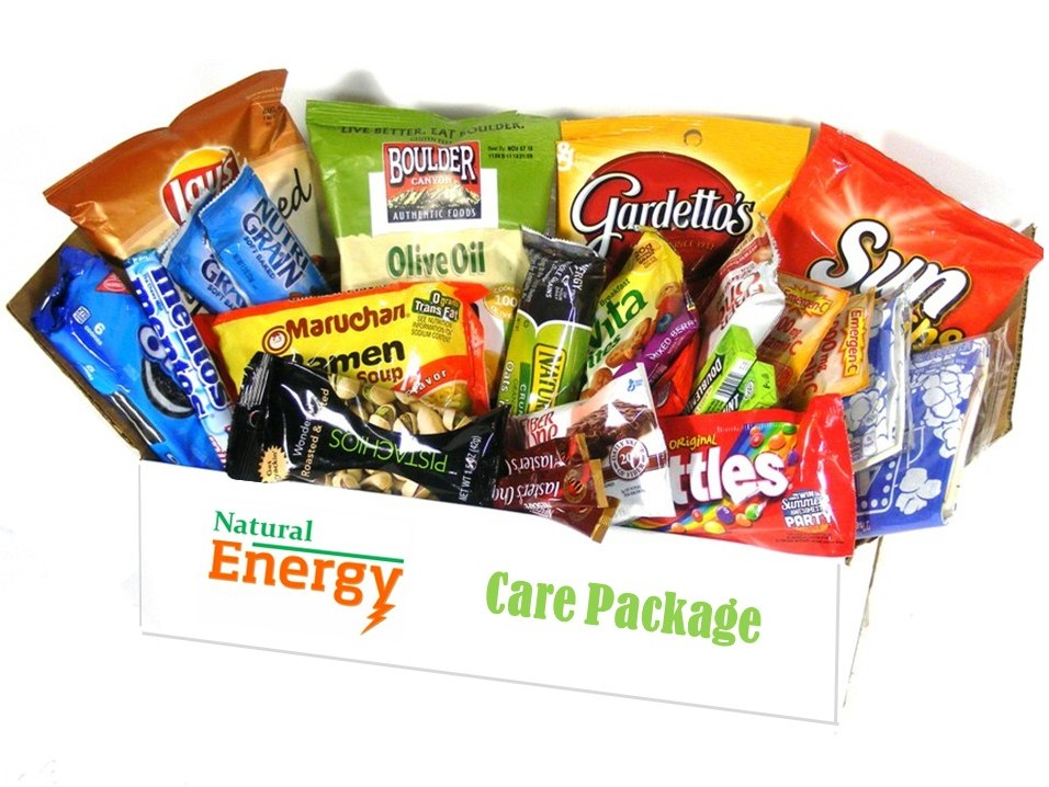 Energy Blast Care Package