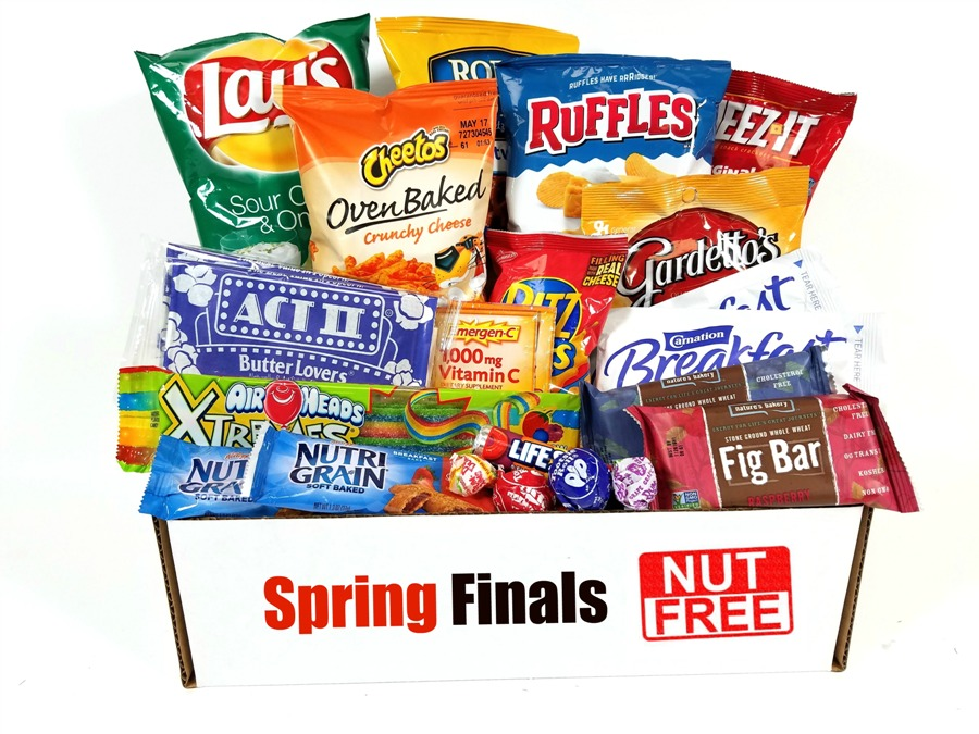 Nut Free College Care Package