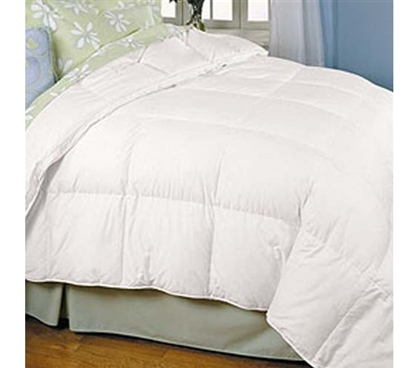 Down Classic Baffle Box Twin XL Comforter