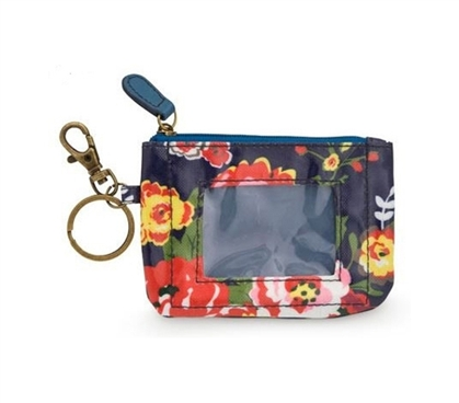 Cottage Rose Student ID Case