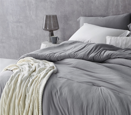 Bare Bottom Comforter - Twin XL Bedding Alloy