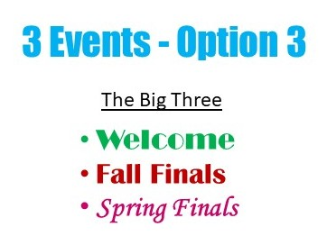 3 Event Plan Option 3