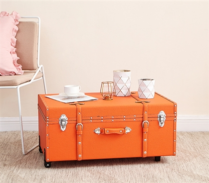 The Sorority College Trunk - Orange