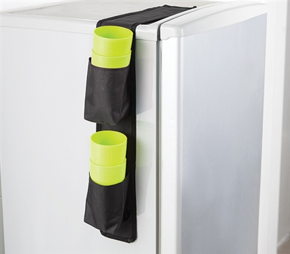 Cuppin Caddy - Over the Fridge Storage Organizer