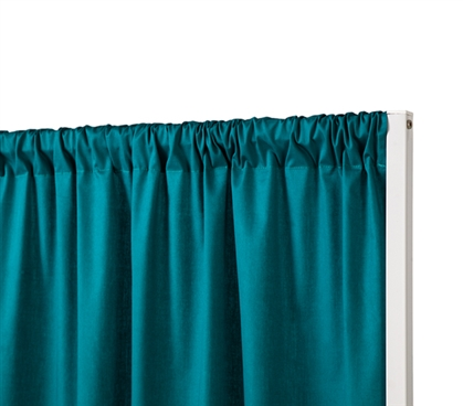 Privacy Room Divider Cotton Fabric - Ocean Depths Teal (Fabric ONLY)