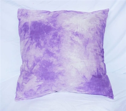 Cloudy Day - Orchid Petal - Cotton Throw Pillow