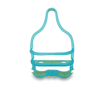 Showerhead Dorm Shower Organizer - Teal