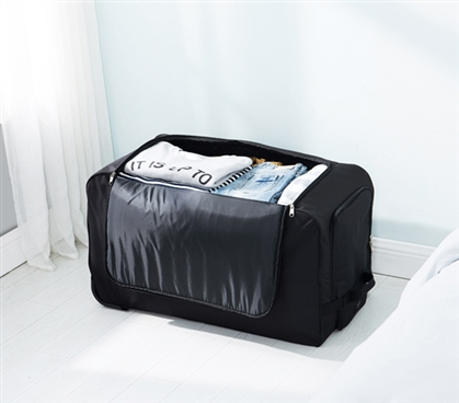 Mondo Gomie - Duffle Laundry Hamper with Wheels