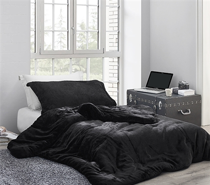 Coma Inducer Twin XL Comforter - Me Sooo Comfy - Black