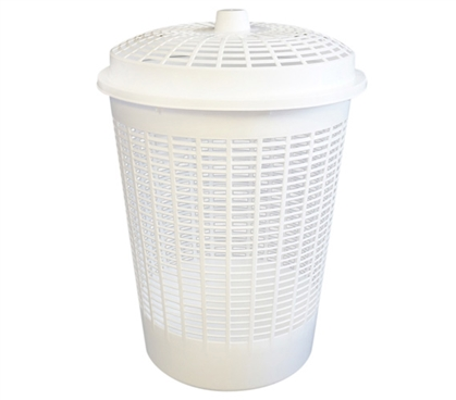 Laundry Basket (Lid Not Included) - White