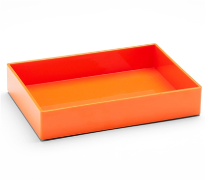 Accessory Tray - Medium - Orange