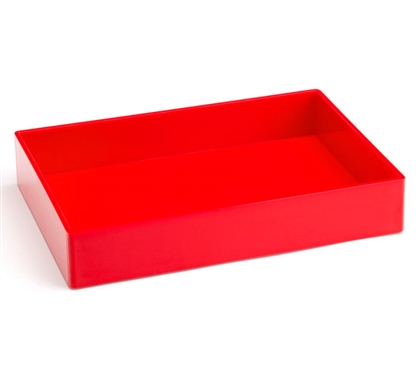 Accessory Tray - Medium - Red