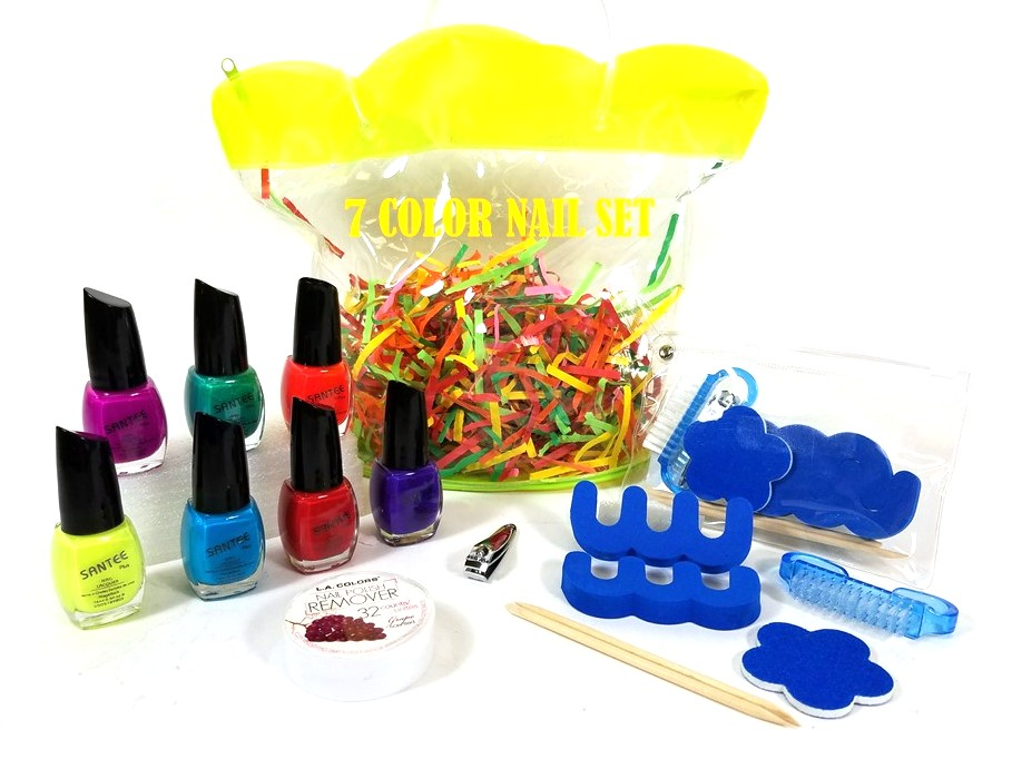 7 Color Nail Set