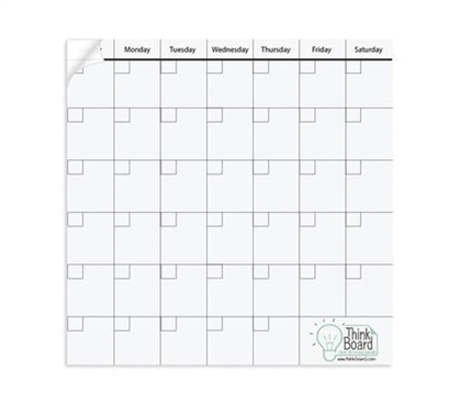 Extra Large Think Board Calendar - 50