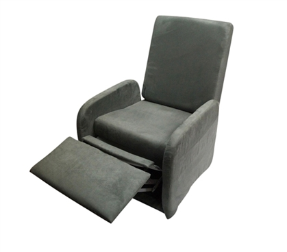 The College Recliner (Folds Compact) - Charcoal Gray