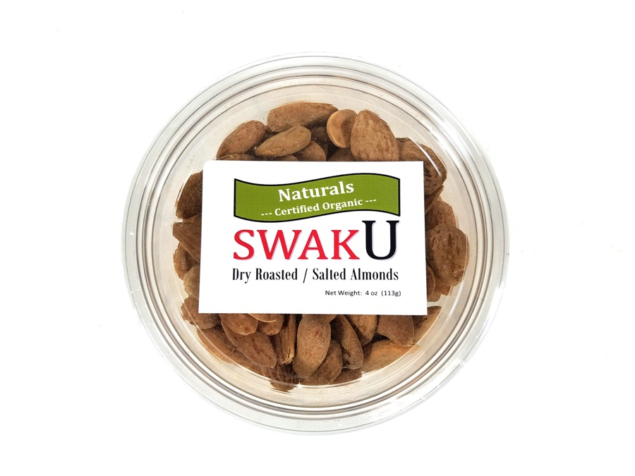 Organic Roasted / Salted Almonds