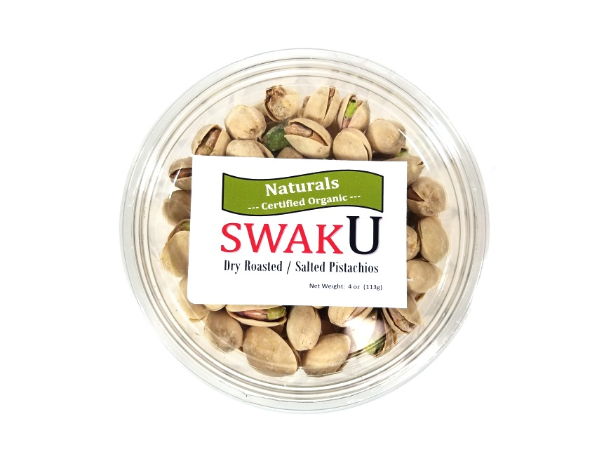 Organic Roasted / Salted Pistachios In Shell